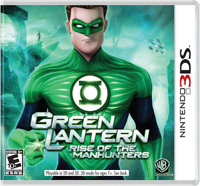 Green Lantern Rise of the Manhunters Decrypted 3DS EUR