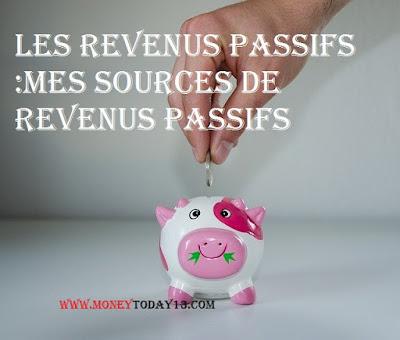 TOP 26 DES SOURCES DE REVENUS PASSIFS