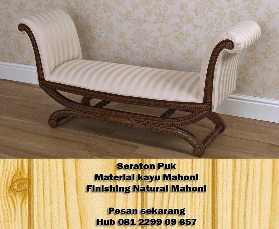 Jual Furniture Jepara Kursi Ukir Seraton Puk