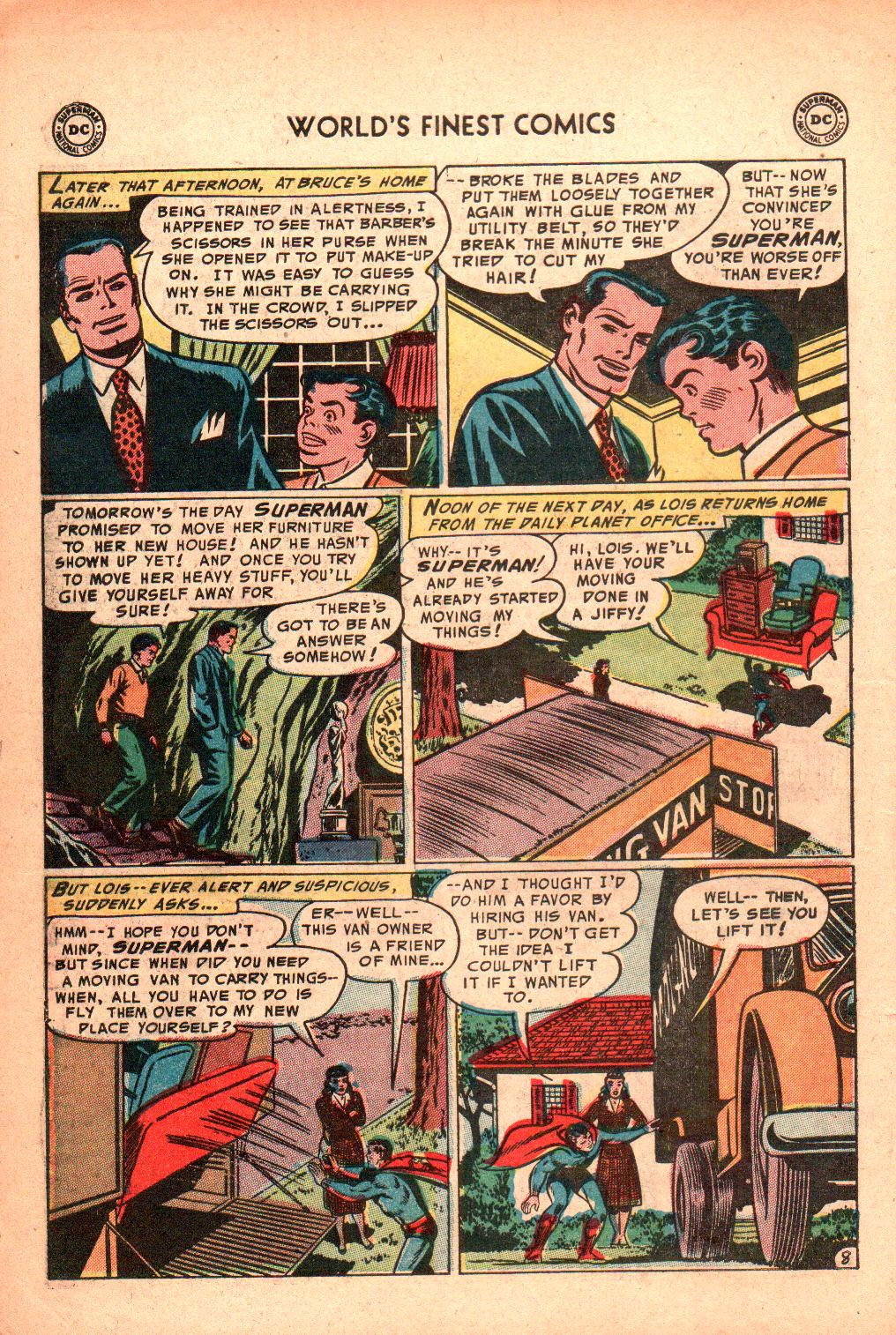 Read online World's Finest Comics comic -  Issue #71 - 12