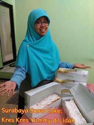 Surabaya SnowCake: Kres Kres Yummy di Lidah