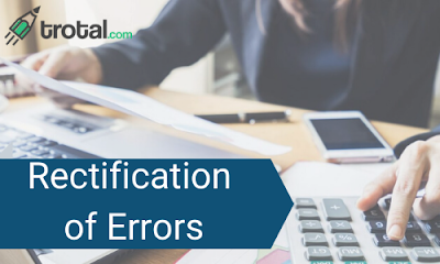Classification and Rectification of Errors- Accounting and Finance for Bankers
