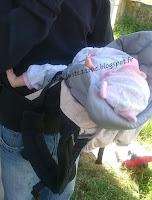 Ergobaby Original portage babycarrier préformé avis test réducteur insert coussin