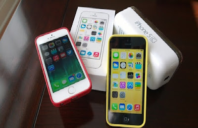 iPhone 5c chinh hang