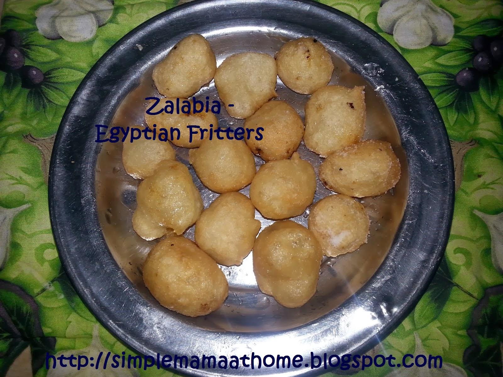 Zalabia - Egyptian Fritters