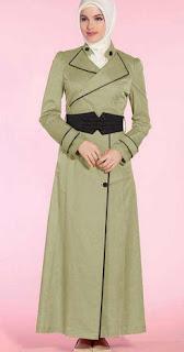 Model Baju seragam Wanita Berjilbab Terbaru