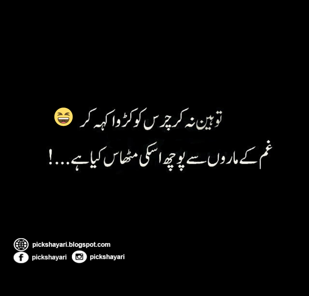 Funny Poetry Quotes In Urdu: Funny Poetry In Urdu