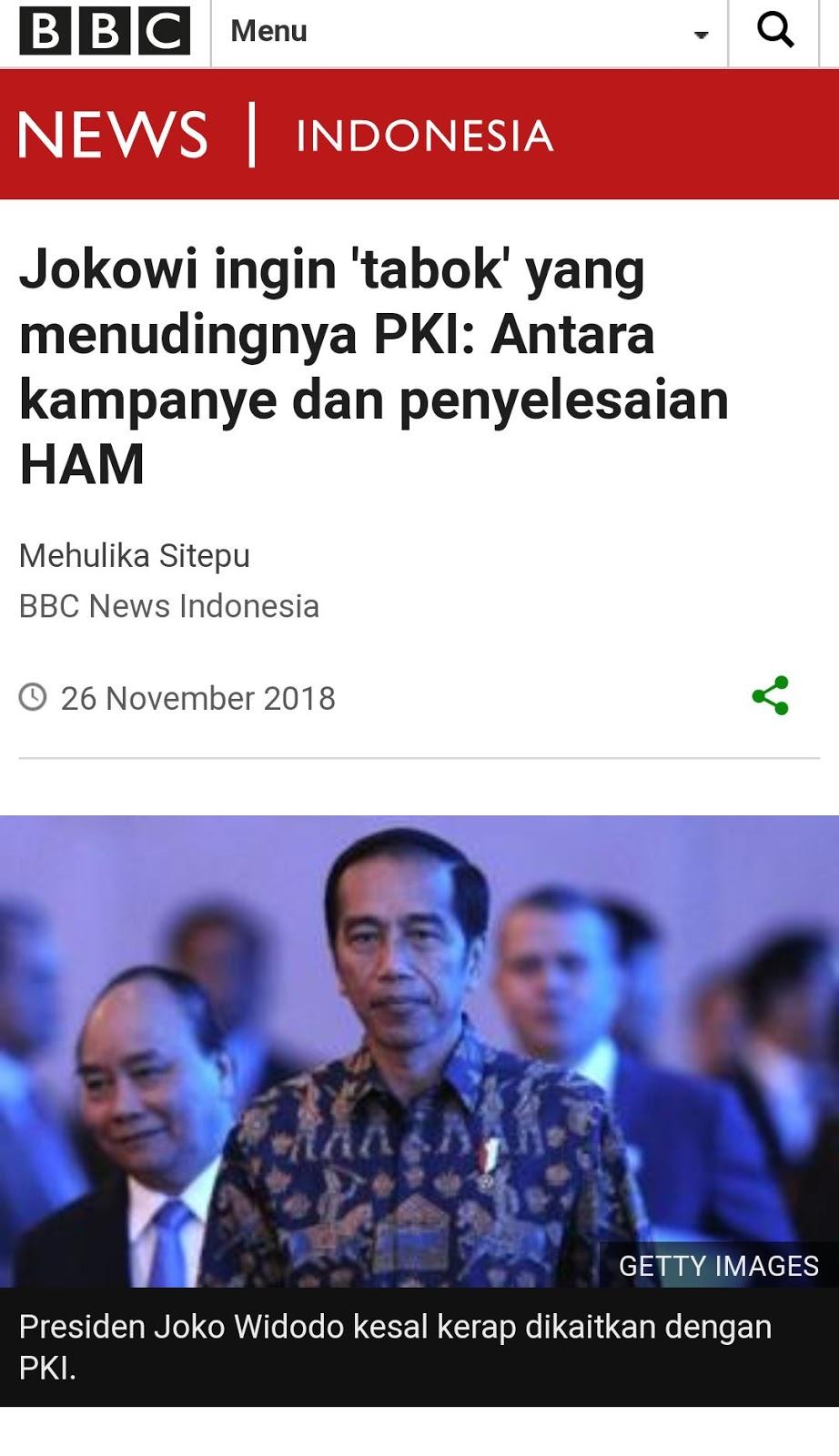 Jokowi Diam Saja Disebut PKI? Jejak Digital Membongkarnya