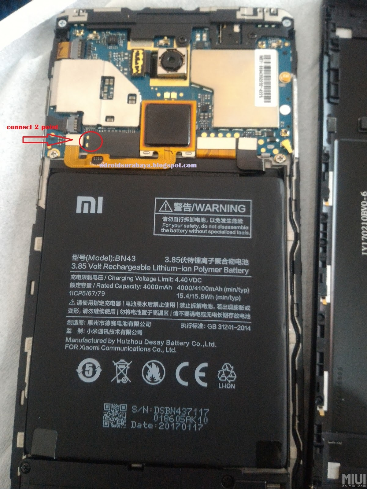 Redmi Note 4 Locked Mi Account — TTCT