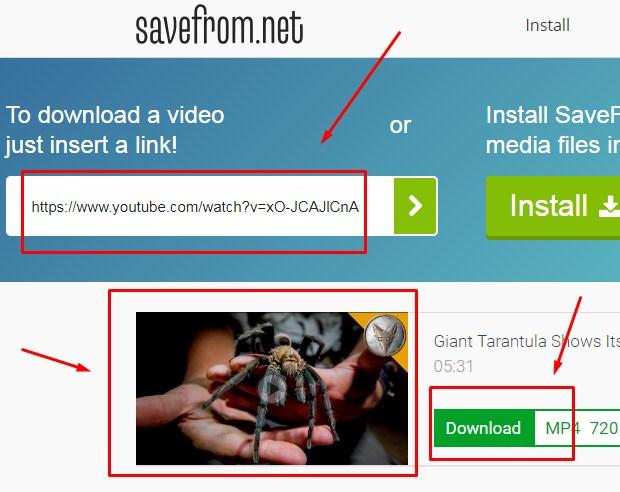 Cara Download Video Youtube di PC/Laptop Dengan SaveFrom Terbaru 2019