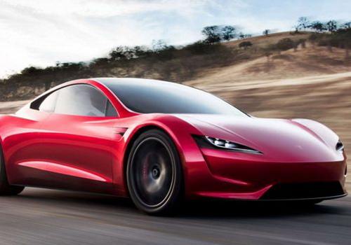Tinuku.com Elon Musk unveils Tesla Semi trucks and Roadster sports car