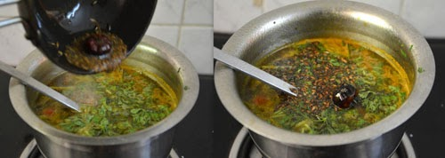 South Indian Mint rasam