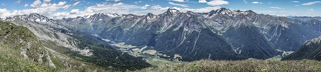Tourdaten Mountainbike, MTB Flatschspitze in Südtirol Zillertaler Alpen