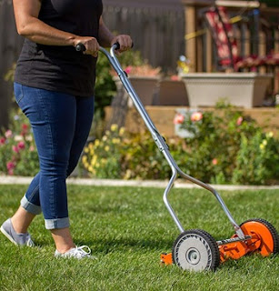 Blade Push Reel Lawnmower
