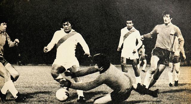 Chile y Perú en Copa del Pacífico 1971, partido de vuelta