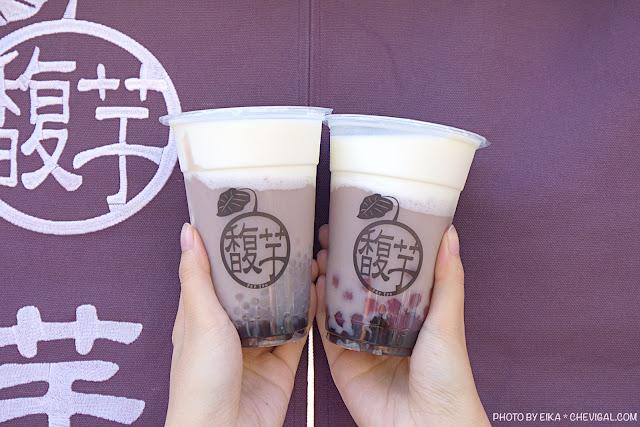 MG 1519 - 馥芋芋頭冰沙芋泥牛奶專賣,大甲芋泥+初鹿鮮乳超濃郁,另加黑糖波霸、芋香珍珠不用錢!
