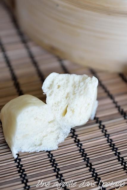 Mantou ( pains vapeurs chinois)