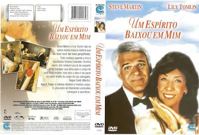 Filme Um Espírito Baixou Em Mim (All of Me) DVD Capa