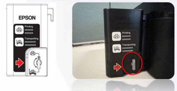 Prosedur Pengisian Tinta, Instal Driver & isi ID tinta