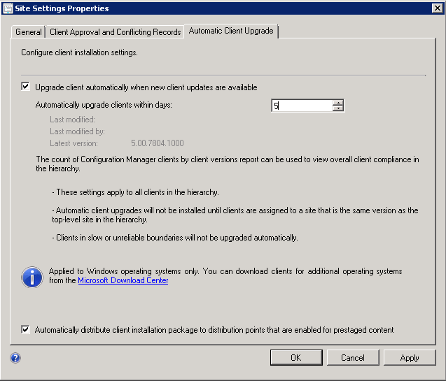 SCCM 2012 Upgrade to SP1 | System Center Configuration Manager