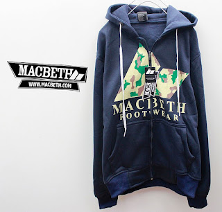 Jaket Fleece Hoodie Macbeth MAC006