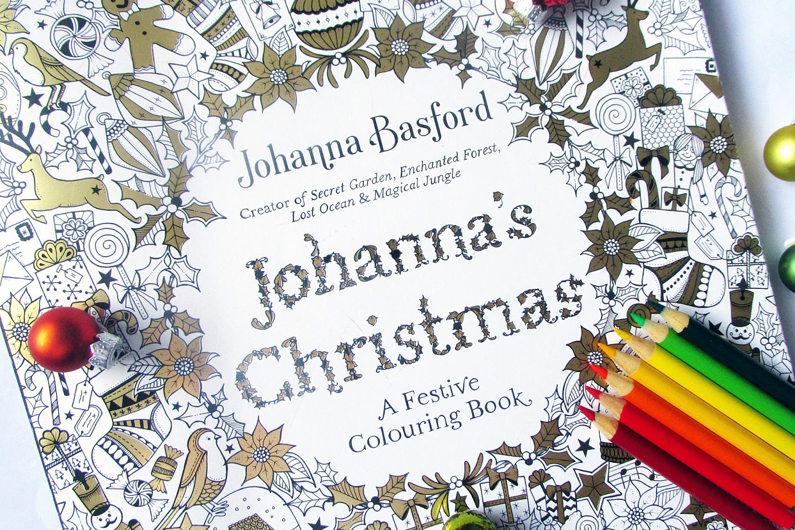 Johannas Christmas Is One Of The Best Adult Colouring Books Available This And Its Sure To Keep You Occupied Throughout Festive Season