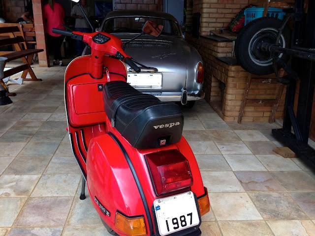IMG 0268 - Garagem do Colecionador: VESPA - PX200E 1986