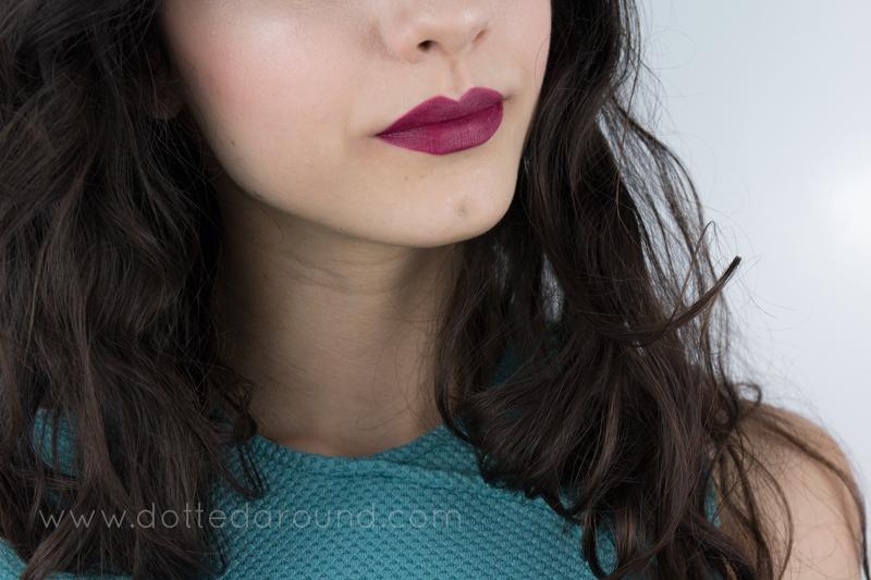 MAC Babes and balls lipstick swatches