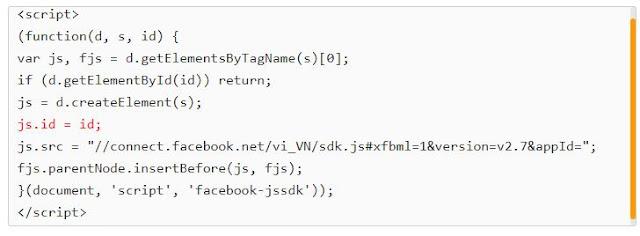 Khắc phục lỗi load chậm khi thêm js của Facebook