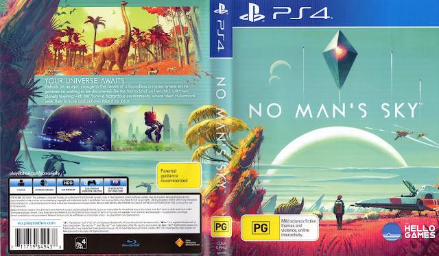 Capa No Mans Sky PS4