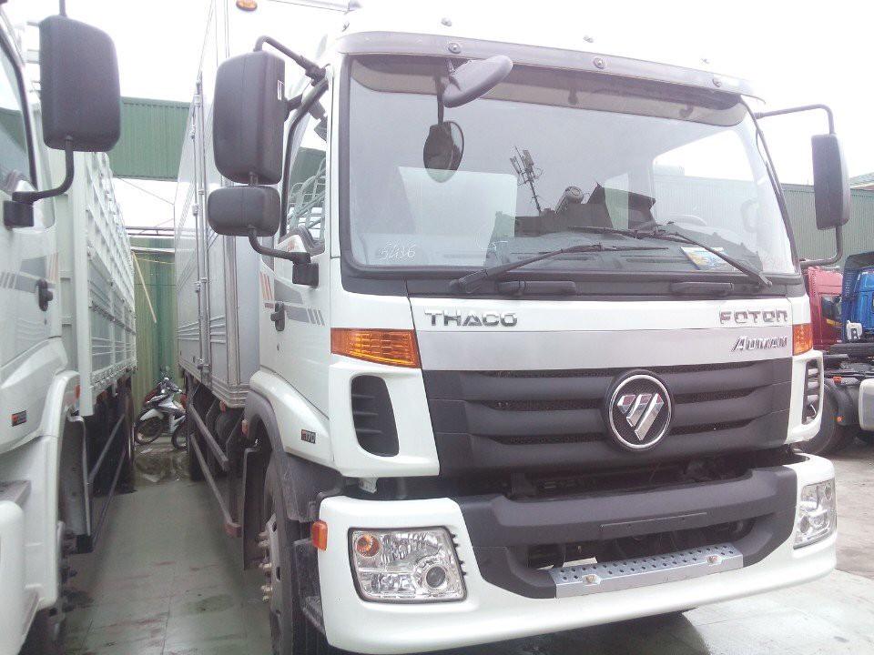 Xe tải 9 tấn tại Hải Phòng Thaco Auman C160