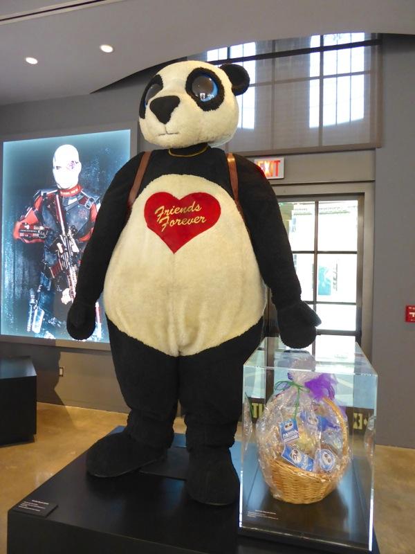 Panda Man Suicide Squad costume