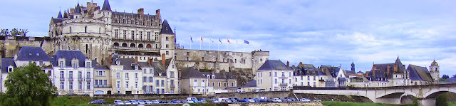 Royal Chateau of Amboise.  Indre et Loire, France. Photographed by Susan Walter. Tour the Loire Valley with a classic car and a private guide.