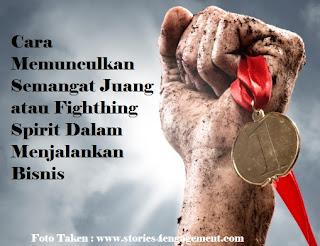 Bisnis, Info, Semangat Juang, Fighthing Spirit