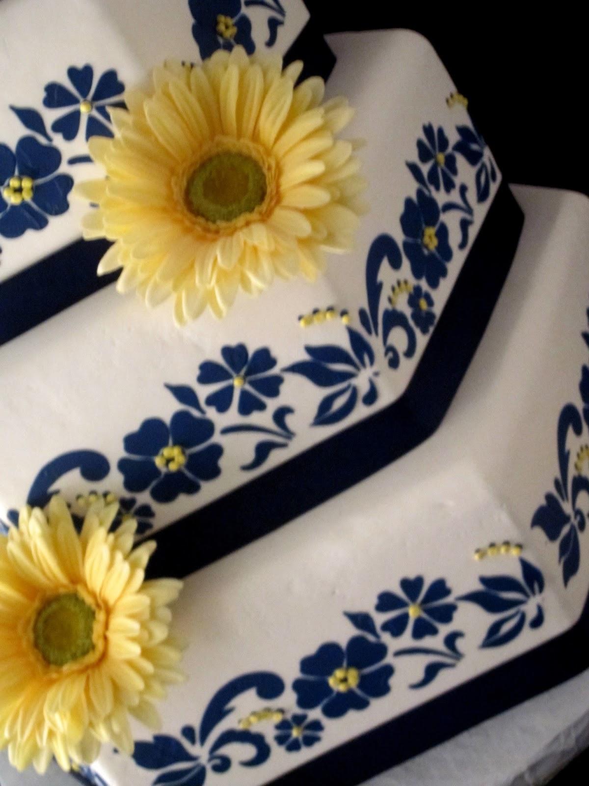 Princesas De Cristo Casamento Azul Marinho E Amarelo