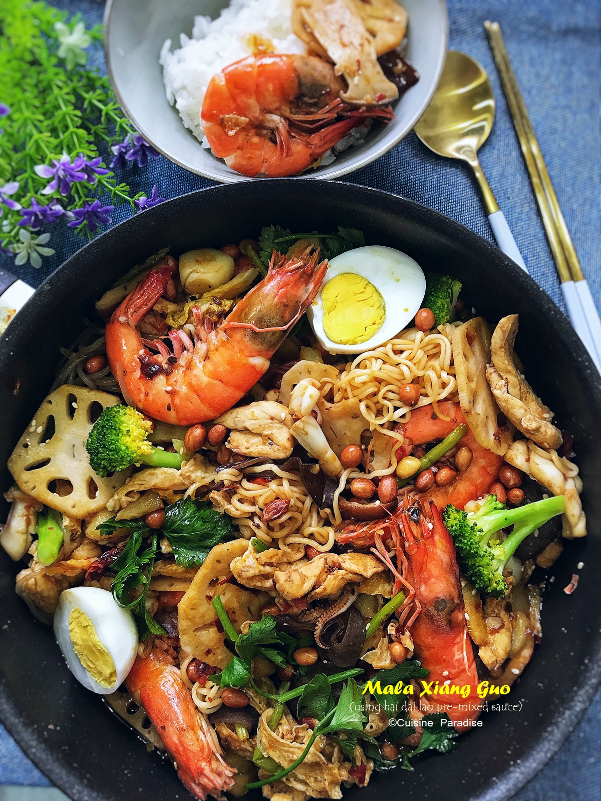 Cuisine paradise singapore food blog recipes reviews and travel recipe video mala xiang guo forumfinder Images