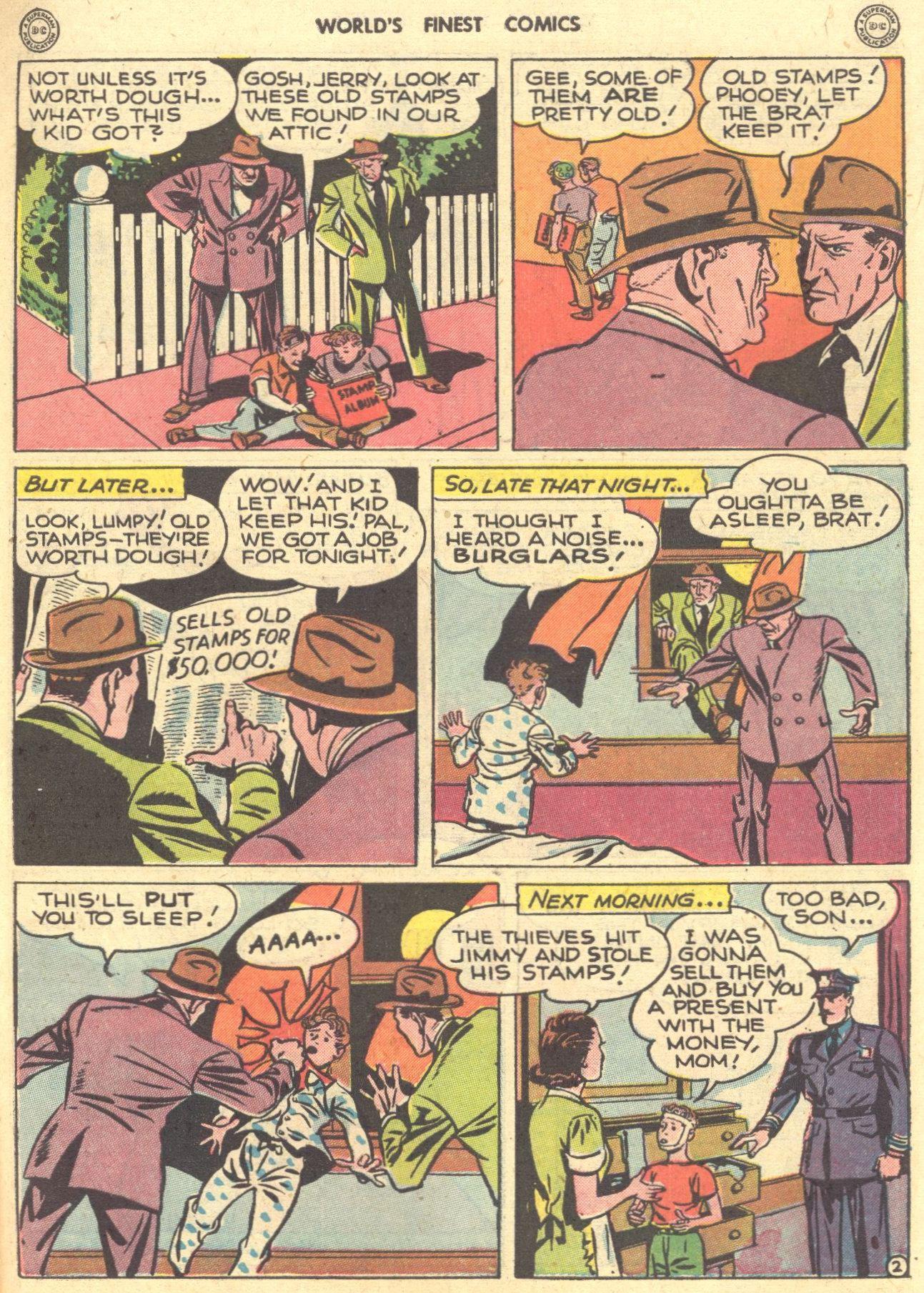 Read online World's Finest Comics comic -  Issue #28 - 44