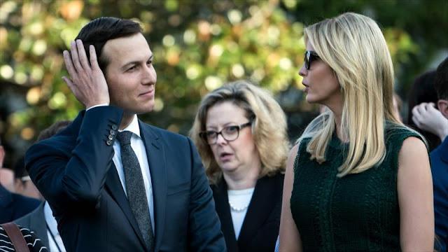 Trump pidió a Ivanka y Jared que abandonararan la Casa Blanca