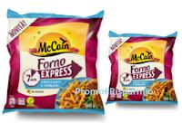 Logo Buono sconto patatine McCain Forno Express: stampalo subito