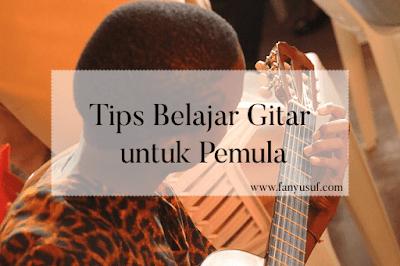 tips belajar main gitar untuk pemula