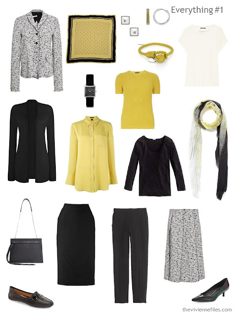 How to Combine 2 Capsule Wardrobes - wardrobe 1
