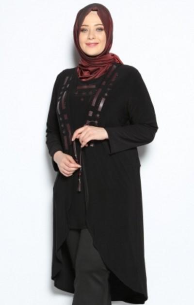 model baju muslim wanita gemuk