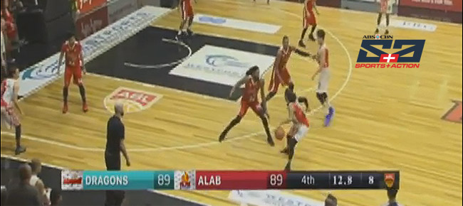 Westport Malaysia Dragons def. Alab Pilipinas, 90-89 (REPLAY VIDEO) March 4, 2018