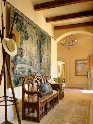 wall Tapestry ideas, wall hanging ideas, how to hang a tapestry