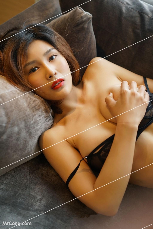 Image Yan-Pan-Pan-Part-3-MrCong.com-005 in post Ngắm vòng một siêu gợi cảm với nội y của người đẹp Yan Pan Pan (闫盼盼) (51 ảnh)