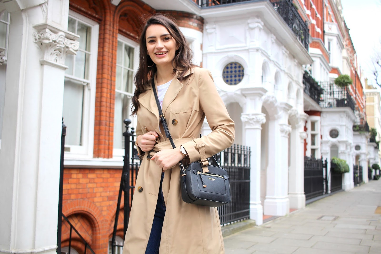 trench coat spring transitional style peexo fashion blog