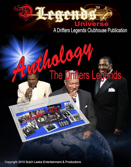 """Anthology"" The Drifters Legends"