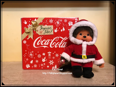kiki monchhichi coca cola noel christmas collection