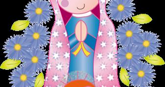 Imagenes De La Rosa De Guadalupe Animada Para Colorear Ideas Para