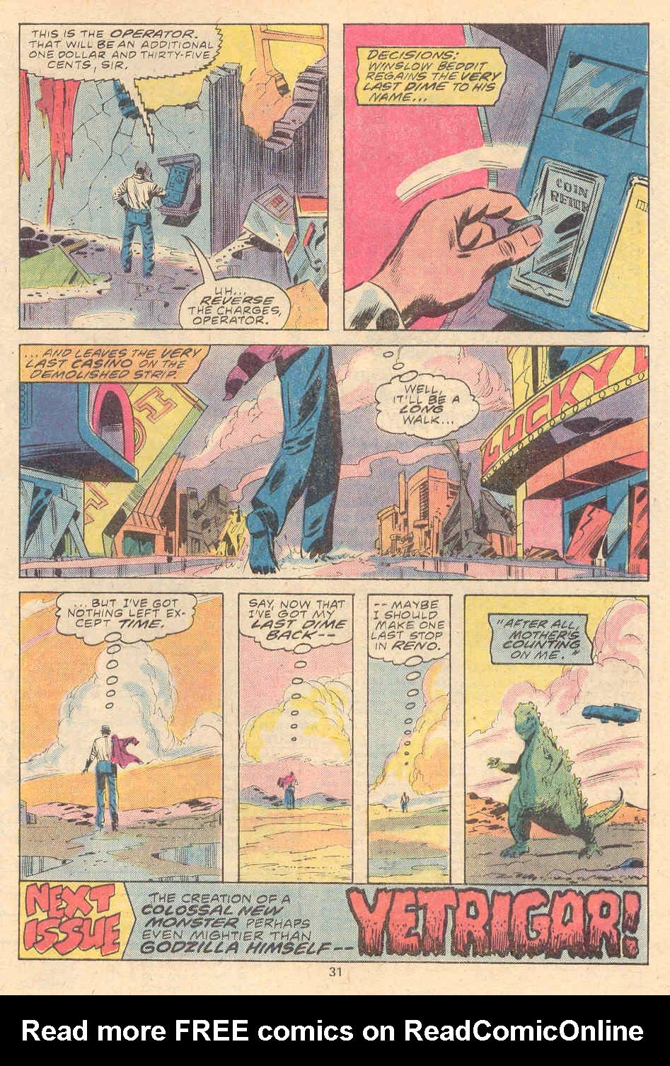 Godzilla (1977) Issue #9 #9 - English 19